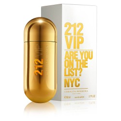 Perfume 212 Vip Carolina Herrera Original 80 Ml